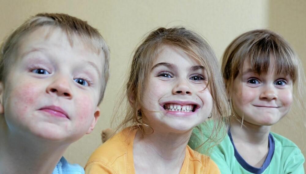 NAVNET SKJEMMER INGEN?: Noen norske barn får navn fra navnetoppen, andre får mer særpregede fylkesnavn. Det finnes tusenvis av navn å velge mellom.