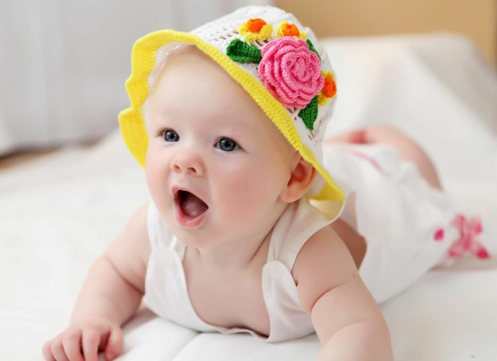 1980-TALLET: Hadde denne søtnosen vært født på 1980-tallet, ville hun sannsynligvis fått navnet Silje, Kristine eller Camilla.
