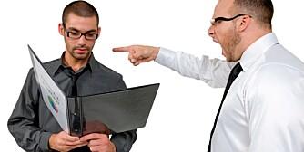 HELSEFARLIG. Å føle seg undervudert og ikke bli støttet av sjefen kan være farlig for helsen.