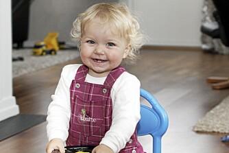 ALT VEL: I dag går Celine i barnehage, og har ingen plager som følge av hjertefeilen.