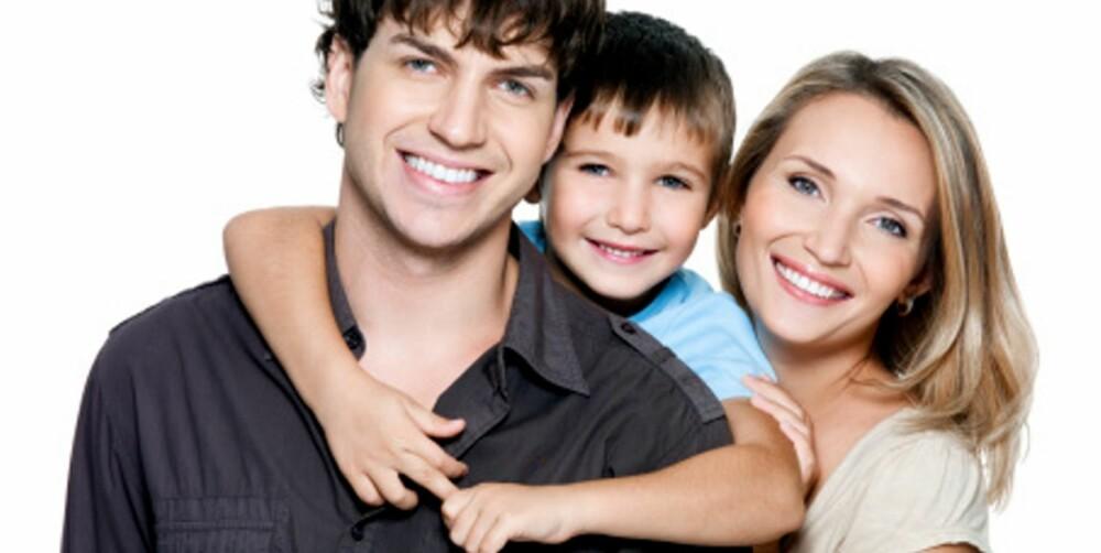 KVALITETSTID: Fordelene med ett barn er at foreldrene får god tid til barnet. Men mange ettbarnsforeldre føler de blir sett på som egoistiske.