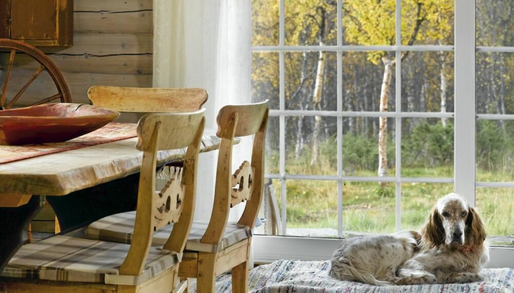 INSPIRASJON FRA LANDSKAPET: La vinduet være en ramme rundt eksteriøret, og la fargene inspirere interiøret.