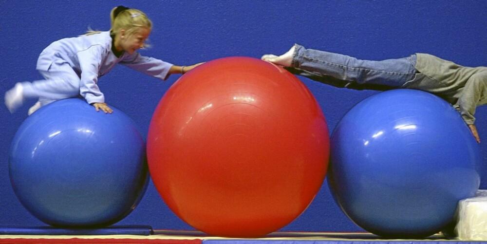 LYSTBETONT: Barns fysiske aktiviteter må være lystbetonte for at de selv skal ønske å holde på med dem og ikke falle ut av idretten for tidlig.