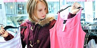 INGEN GARANTI: Statens forurensningstilsyn anbefaler å vaske klærne før de tas i bruk. Men det er ingen garanti for at restene av kjemikalier forsvinner.