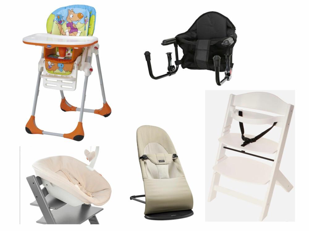 BABYSTOL: Hvilken stol skal du velge til babyen? Sjekk guiden på spisestol til baby her.
