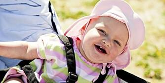 HUSKER MYE: Små barn kan kjenne igjen mennesker, men de husker ikke alltid hva de gjorde i går.