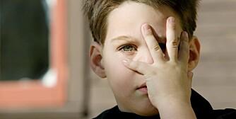 REDDE BARN: Barn som er mørkredde kan være barn som generelt er utrygge, i motsetning til barn som er redde for en spesiell hendelse, som å gå til tannlege, eller frisør.