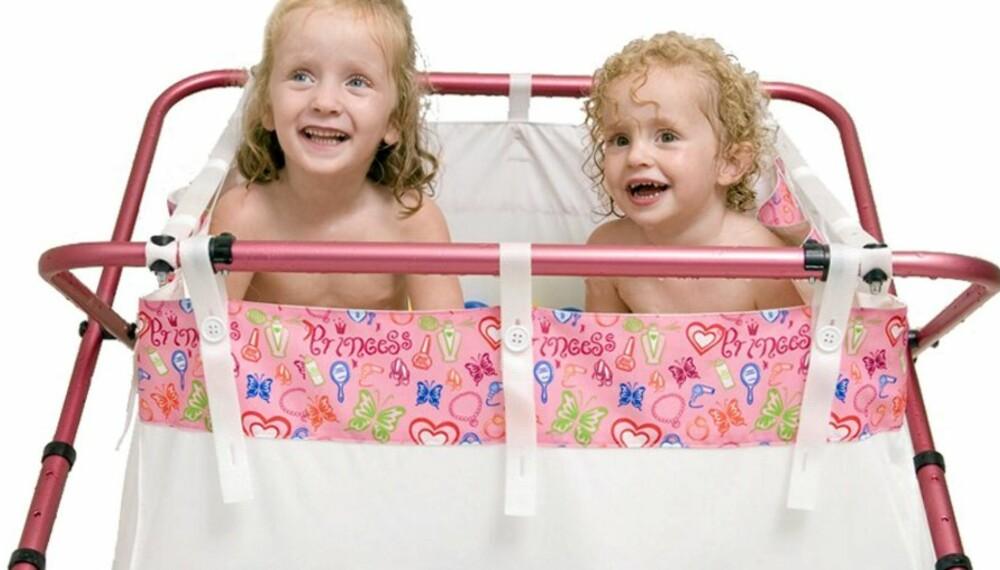 BIDABAD: Sammenleggbart badekar til barn