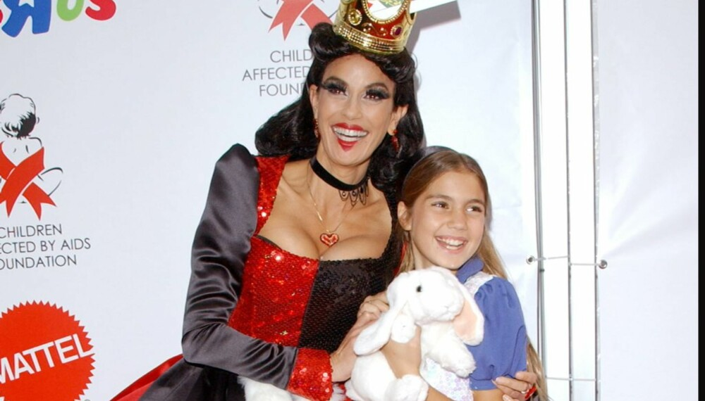 Hollywood-Halloween: Teri Hatcher og datteren Emerson