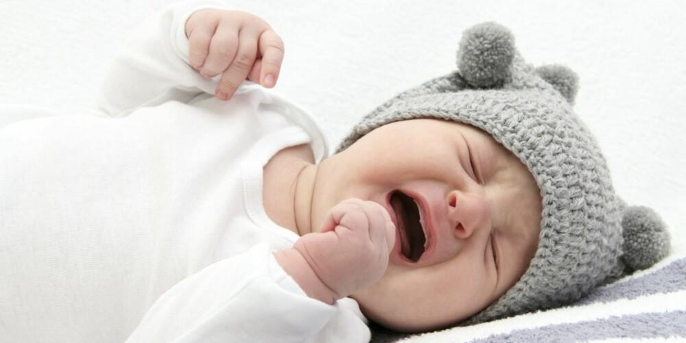 BABYGRÅT: Parterapeut Eva Tryti er spesielt opptatt av den utfordrende perioden par er i når de nettopp har fått barn.
