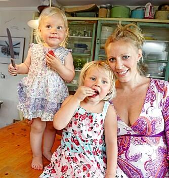 PRIORITERER BARNA: Sølje og Stig Henrik er enige om ikke å sende barna i barnehagen før de fyller 3 år.