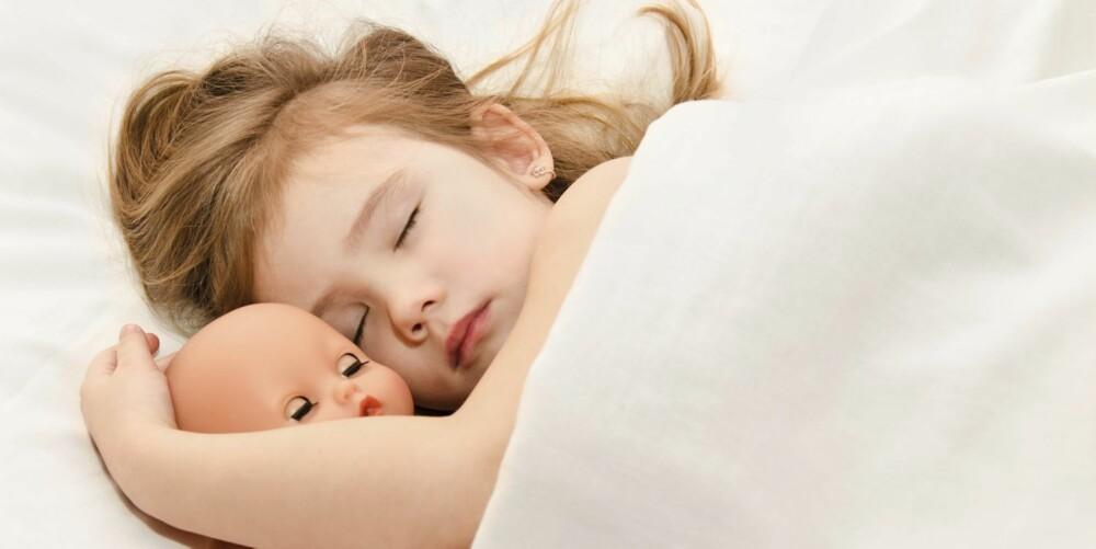 SOVEGLAD: Et lite b-menneske er vel de fleste foreldres drøm?