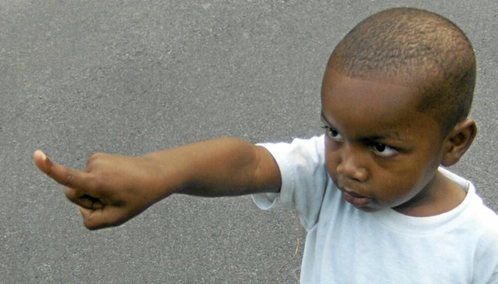FLAUT: Når barnet peker på en annen manns kjønnsorgan og utbryter at han må hete Rudolf?