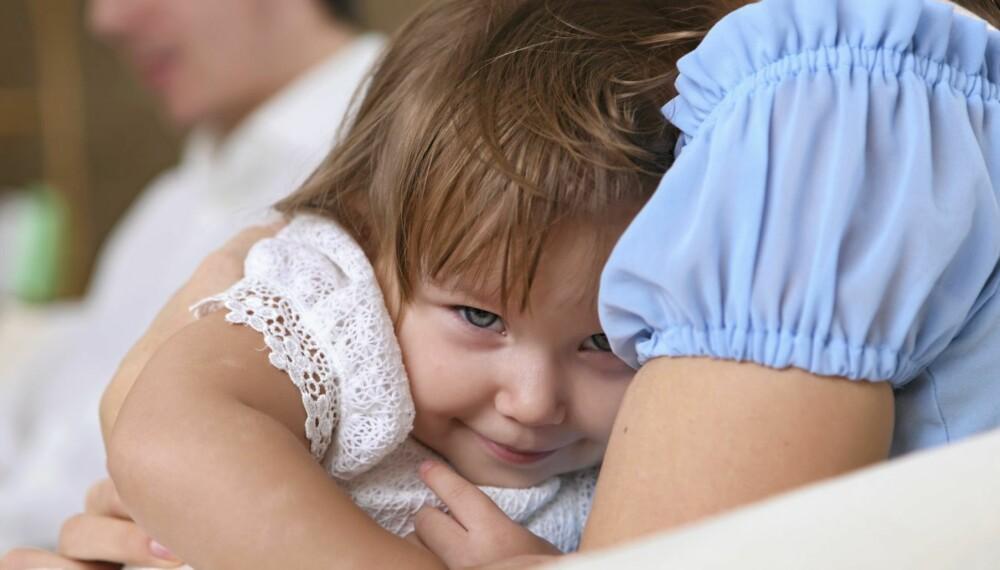 MAMMADALT: Små barn foretrekker ofte mamma. Er det et problem eller et sunnhetstegn?