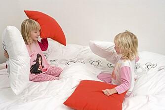 VENNER: Å få til samspill med andre barn bygger opp barns selvtillitt.