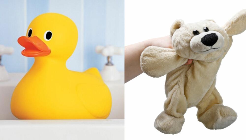 SKJULT SKITT: Disse lekes med hver dag - ofte av ikke helt rene barnehender. Men hvor ofte får de egentlig en vask?