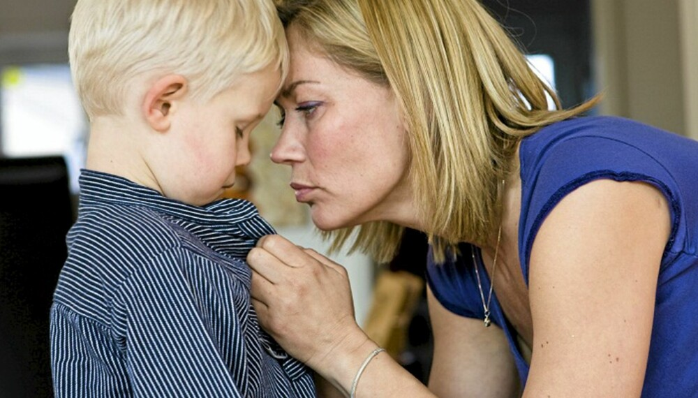 GRENSESETTING: Å unngå konflikter kan være å gjøre både deg og barnet en bjørnetjeneste. Bli enige om hva dere bestemmer, og hva barnet får bestemme.