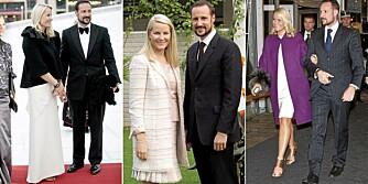 VALENTINO OG GUCCI: Under åpningen av Operaen var Mette-Marit kledd i en Valentino-kjole til kr 80.000. Under sitt besøk i India i 2006 bar hun et komplett Valentino-sett til kr 100.000. På årskonferansen til NHO dukket hun opp i en Valentino-kåpe til kr 80.000 og Gucci-sko til kr 7000.