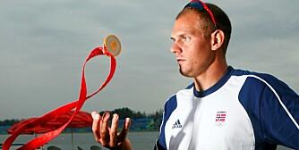 ASTMA-PLAGET: Mange toppidrettsutøvere trener på seg astma. Roeren og OL-vinneren Olaf Tufte er en av disse.
