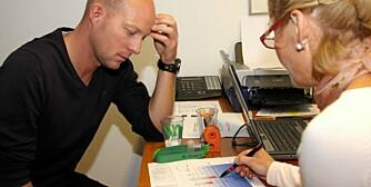 DOMMEN: Hilde Grønningsæter Staubo i Humentor har kartlagt alt om helsen til Paul Andreas Lundeby. Og her får han dommen.