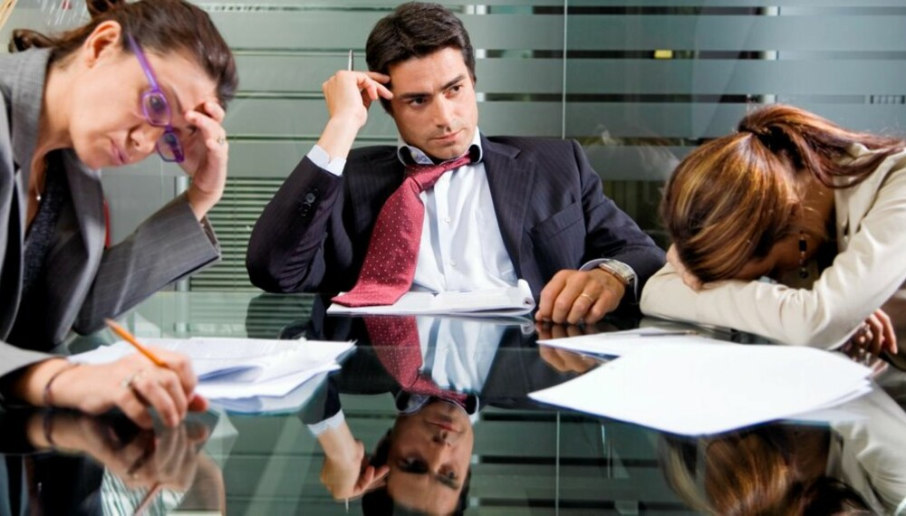 VANSKELIGE TIDER: Mange bekymrer seg for jobbsituasjonen fremover. Lær hvordan du kan se muligheter i stede for å grave deg ned i bekymringene.