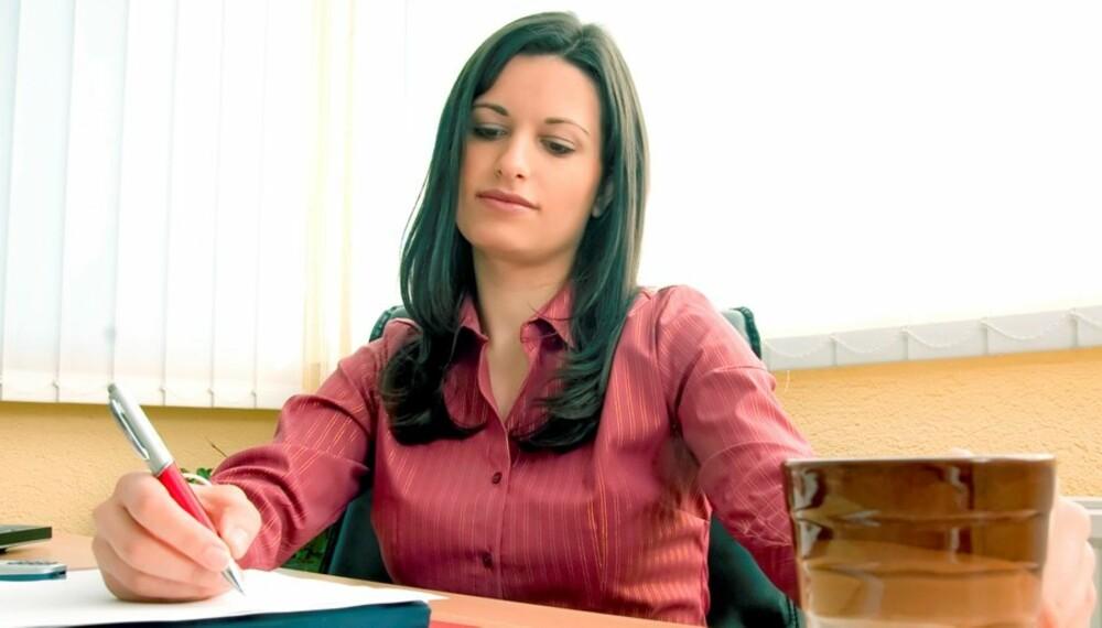 TEST DEG SELV: Har sjefen grunn til å være fornøyd med deg?