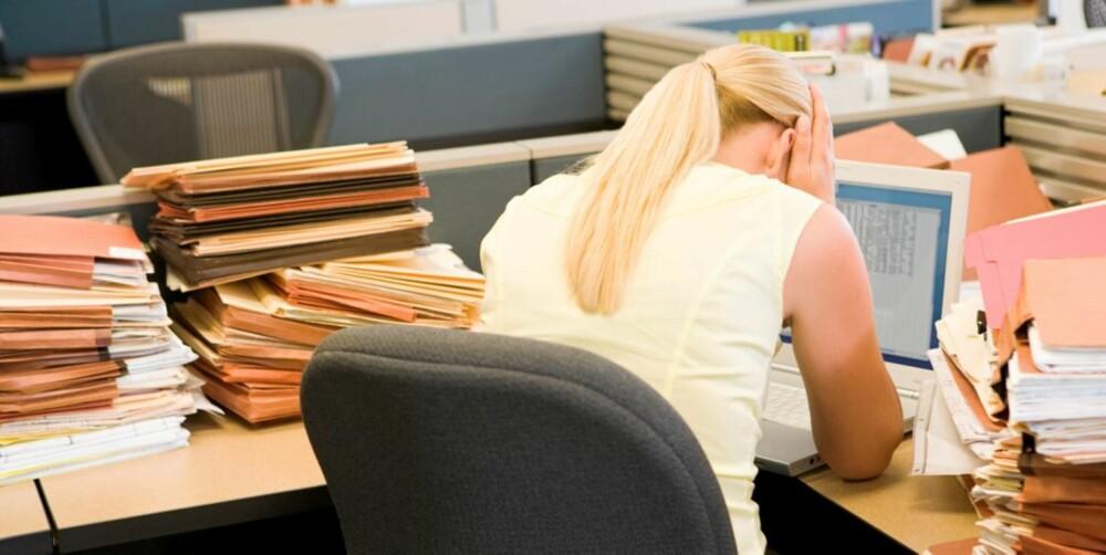 STERKE REAKSJONER: Mange arbeidsgivere har begynt å tilby psykologcoach til personer som mister jobben.
