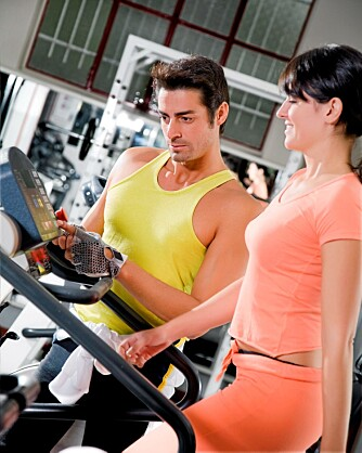 GI HJELP: For en treningsentusiast er en personlig trener en velkommen gave.