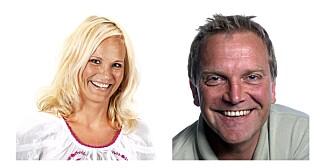 LYKKESPREDERE: Ingeborg Myhre og Remo Martinsen har trolig det som må være Norges hyggeligste jobb.