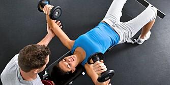 VARIERT PROGRAM: Variasjon i øvelser og intensitet må til for at du skal merke fremgang.