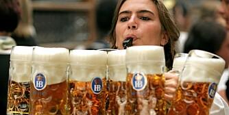KLART FOR FEST: Oktoberfesten i München starter til helgen.