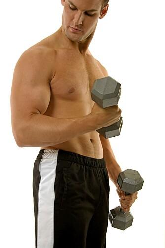 MUSKLENE: Muskelmassen begynner å svinne allerede i 30-årene. Trening motvirker muskeltapet.