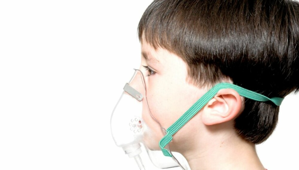 ASTMA: Ca 10 prosent av norske barn har en eller annen form for astmadiagnose.