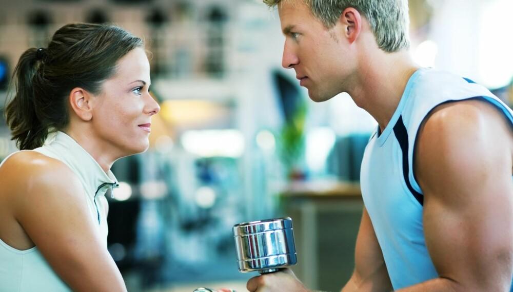 TREN SAMMEN: Det kan være lurt å trene sammen enten dere har vært sammen i mange år eller forholdet er nytt.