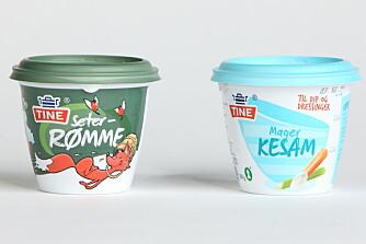 RØMME VS. KESAM: Hvilken du bør velge avhenger av hva du skal bruke matvaren til, mener ernæringsfysiologene. FOTO: Bjørn Inge Karlsen