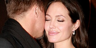 (L-R) Actor Brad Pitt and actress Angelina Jolie attend the premiere of _Changeling_ during the 46th New York Film Festival at the Ziegfeld Theater on October 4, 2008 in New York City. 46th New York Film Festival - _Changeling _ Premiere - Inside Arrivals Ziegfeld Theater New York, NY United States October 4, 2008 Photo by Theo Wargo/WireImage.com  To license this image (55885559), contact WireImage.com