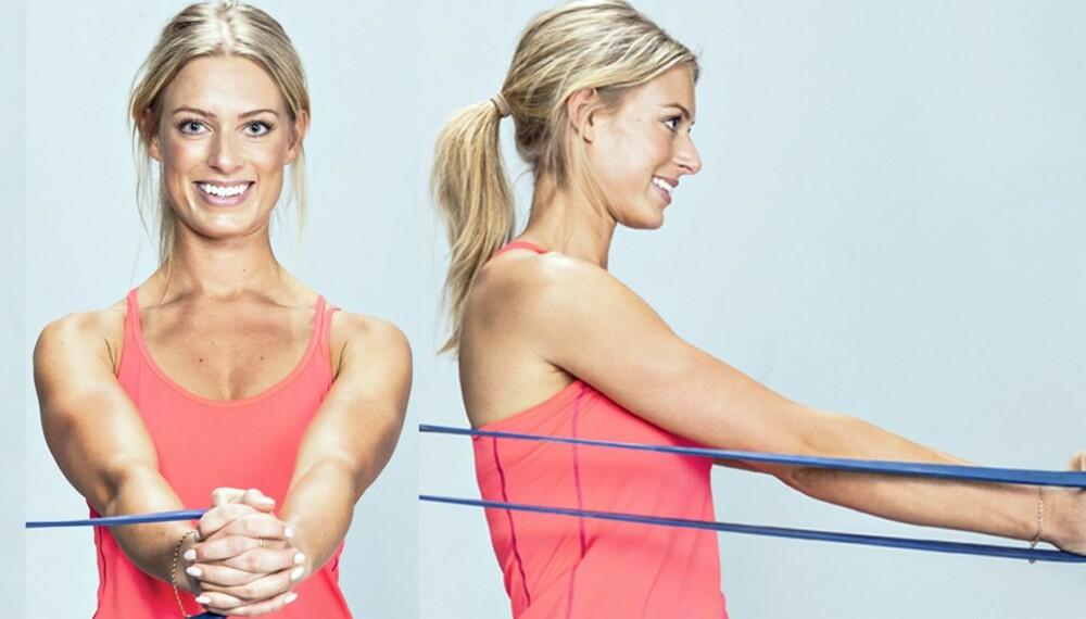 HJEMMETRENING: Med dette programmet kan du trene hele kroppen på bare en halvtime nesten uten utstyr.