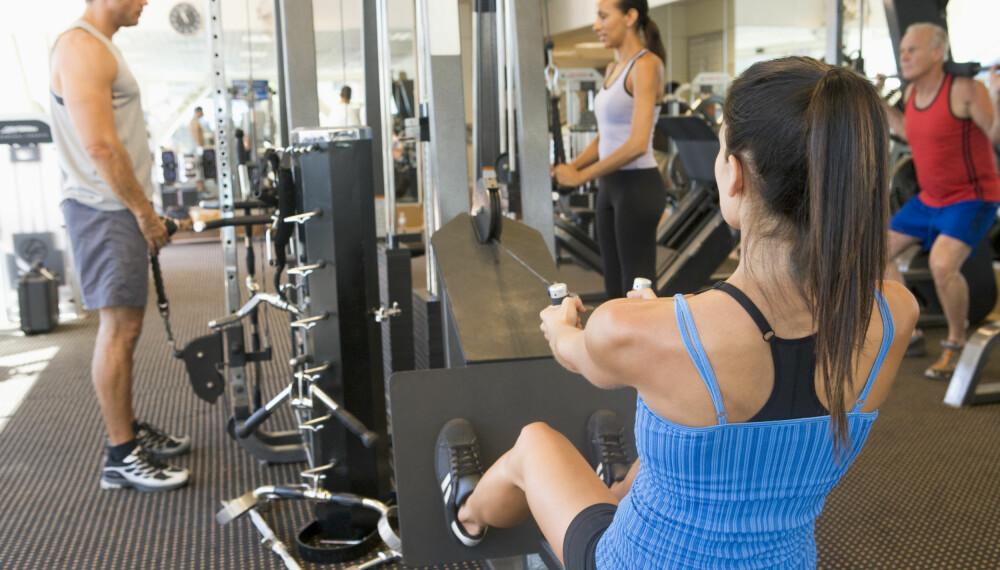 KOMME I GANG MED TRENING: Her får du flere gode råd for å komme i gang med treningen etter en lang pause.