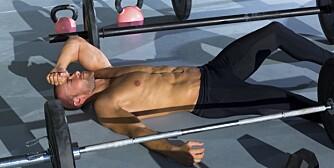OVERTRENT: Når du begynner å yte dårligere på trening selv om du har trent regelmessig og har hatt fremgang, kan det være tegn på at du er overtrent.