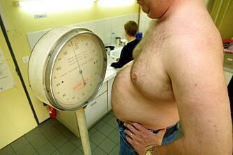 BMI: Personer med en BMI under 18,5 regnes som undervektige. Normal BMI er fra 18,5 til 24,9, mens 25 til 29,9 regnes som overvekt. En BMI på 30 eller mer, regnes som fedme. ILLUTRASJONSFOTO: Colourbox