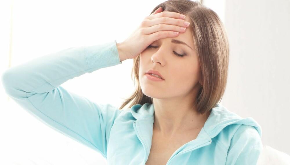 HODEPINE: Har du vondt i hodet dagen derpå kan du ta en pille mot smertene, men drøy helst til du har null i promille.