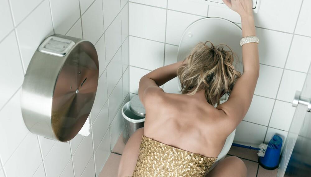 INGEN KUR: Drikker du for mye, er sjansen stor for at du blir fyllesyk dagen etter.  Illustrasjonsfoto: Colourbox