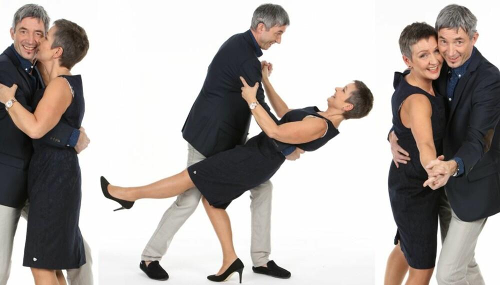 SVINGER SEG: Vekttap ga ny selvtillit for Elin og Jan Elvebakken. De fikk også mot til å melde seg på dansekurs! (Sminke, hår og styling: Silje Annett Haugen)