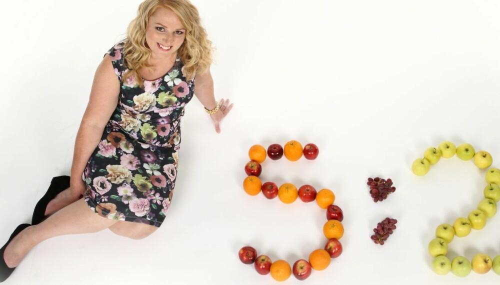 HEKTA: Lene Marie fikk en kickstart på slankekuren da hun prøvde 5:2-kombi. De nye vanene vil hun ikke gi slipp på! (Hår og sminke: Silje Anett Haugen)