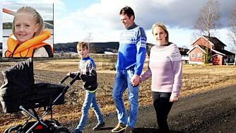 Å MISTE ET BARN: Ann Kristin og Thor Åge er takknemlige for at de har fått en ny liten jente, og samtidig takknemlige for tiden de fikk sammen med Tiril.