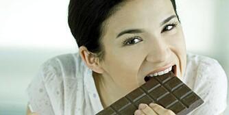 SJOKOLADESUG: Ofte er det blodsukkerfall som gir sjokoladesuget.