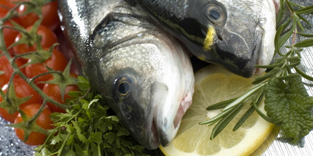 FERSKE INGREDIENSER: Havabbor, havkaruss, rosmarin, persille, tomater og sitron