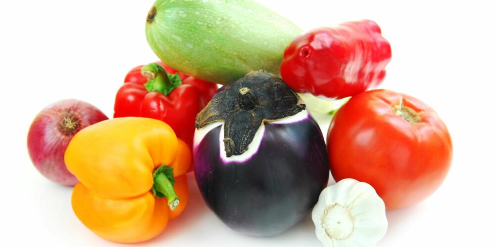 GRØNNSAKER: Fargerike vekster er fulle av antioksidanter