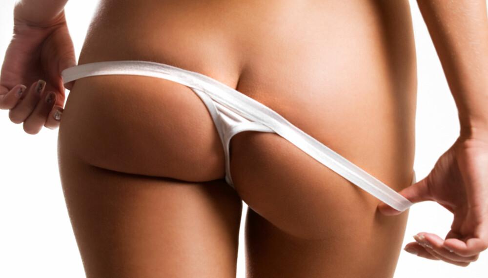 TRUSEPAUSE: - For meg er det innlysende at trange, syntetiske truser vil være uheldig for miljøet i skrittet. Så enten ingen truse, tynn ull, silke eller bomull?, sier gynekolog og spesialist i kvinnesykdommer Peer Høvik.