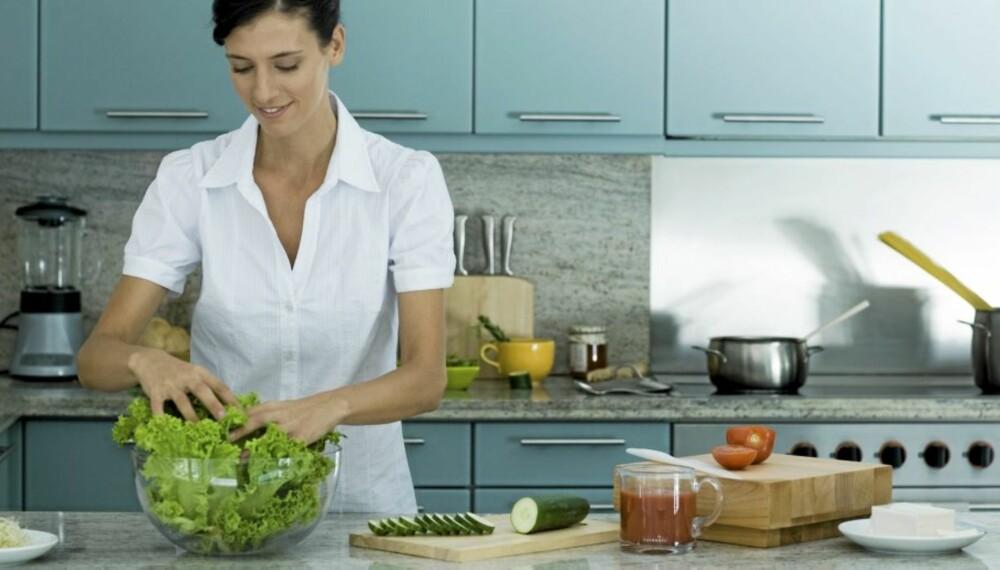 1-2-3: Salaten kan du lage på noen minutter, men den holder deg mett lenge.